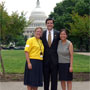 The Texas Advocates: Cathleen Godwin, Will Swetnam and Michelle Cho