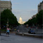 A view back down Pennsylvania Avenue, showing our focus for Wednesday!